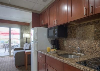 Resort Room Kitchen
