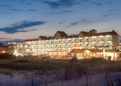 Cape May Hotel At Dusk