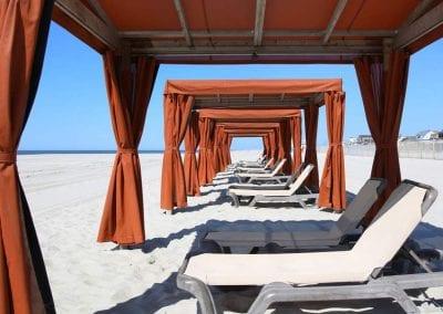 Montreal Beach Resort Cabana Rental