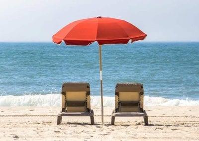 Montreal Beach Resort Chair Rental