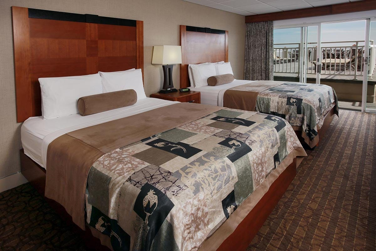 Two Queen Room Open to Sun Deck - Cape May