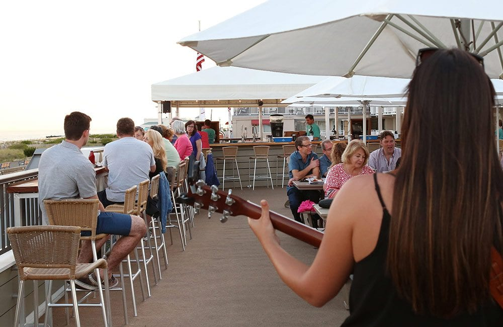 Rooftop Deck Bar Live Music Cape May